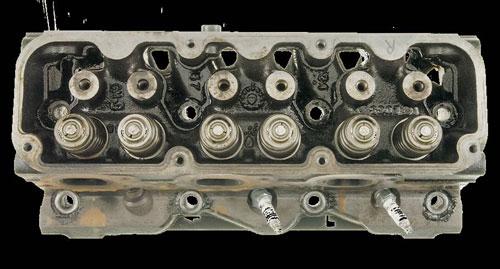 Cylinder Head After AMSOIL Engine & Transmission Flush