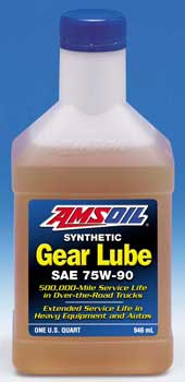 AMSOIL Long Life Synthetic 75W-90 Gear Lube