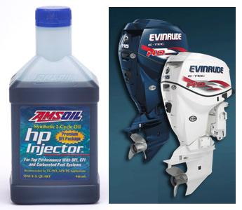 AMSOIL HP Injector with Evinrude E-TEC Engines
