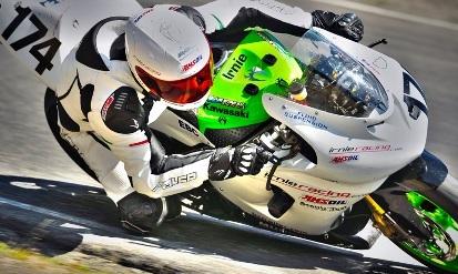 Motorcycle Racer- Marcel Irnie