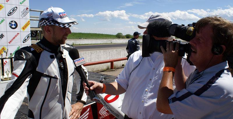 Marcel Irnie Interviewed on TSN