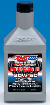 AMSOIL Synthetic 20W-50 Motorcycle Oil