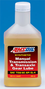 AMSOIL Synthetic Manual Transmission and Transaxle Gear Lube