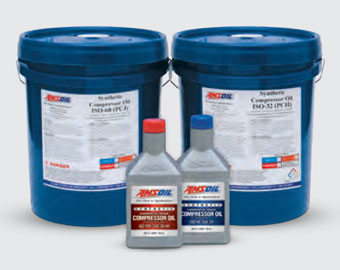 AMSOIL PC Series Synthetic Compressor Oils