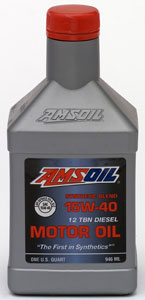 AMSOIL Synthetic Blend 15W-40 Heavy Duty Motor Oil