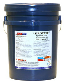 AMSOIL Sirocco Synthetic Compressor Fluid