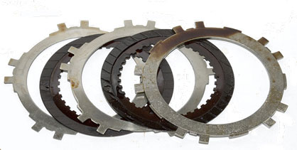 Automatic Transmission Clutch Plates After Flush