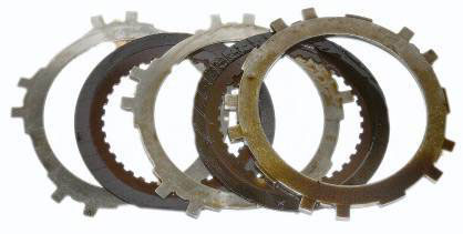 Automatic Transmission Clutch Plates Before Flush