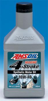 AMSOIL 10W-40 Formula 4-Stroke® Marine Synthetic Motor Oil