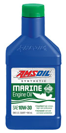 AMSOIL 4-Stroke Marine Synthetic 10W-30 Engine Oil