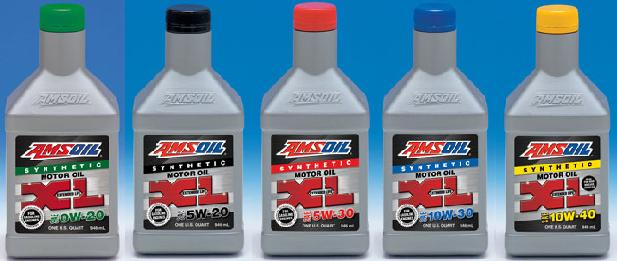 Amsoil xl extended life synthetic motor oils from oildepot for Life of synthetic motor oil