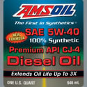 AMSOIL Synthetic Diesel Engine Oil