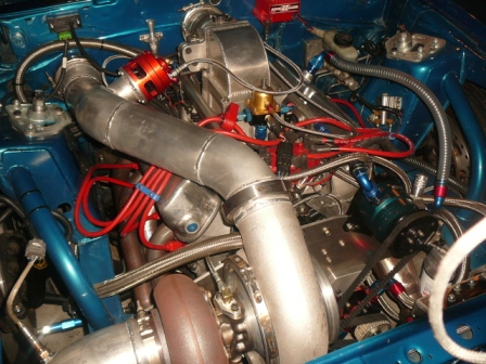 Steve's Turbo-Charged 302 Mustang Engine
