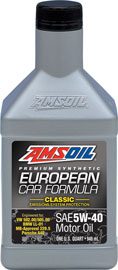 AMSOIL European Formula 5W-40 Classic ESP Synthetic Motor Oil
