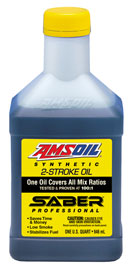 AMSOIL Saber Professional Synthetic 2-Cycle Oil