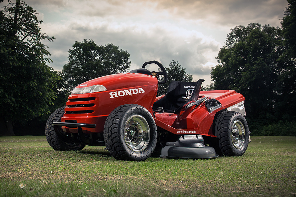 Honda World's Fastest Lawn Mower