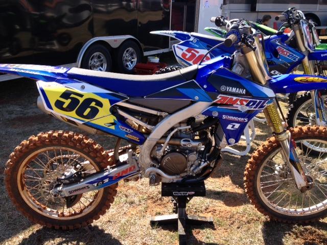 Kyle Biro's 2014 Yamaha YZ250F