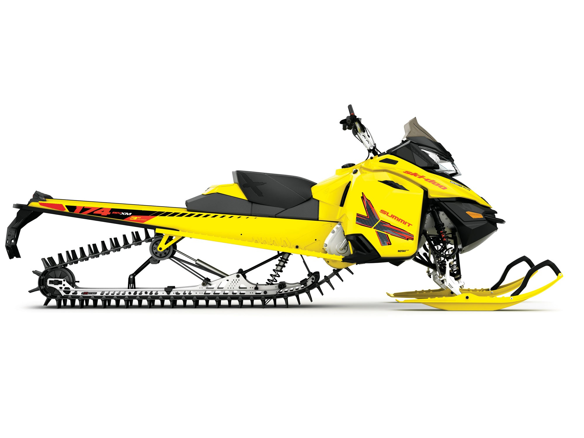 Ski Doo Summit T3 Model With 174 Inch Track Oil Depot