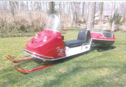 1969 Boa-Ski 300 Snowmobile with Cutter - Oil Depot ...