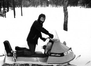 Old Ski-Doo Picture