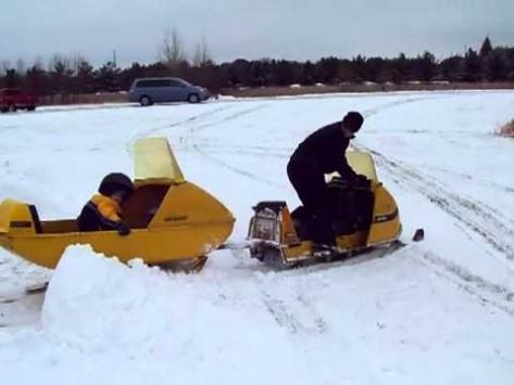Ski-Doo Olympique with Cutter - Oil Depot - AMSOIL Dealer ...