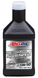 AMSOIL 5W-50 Synthetic Mustang Oil