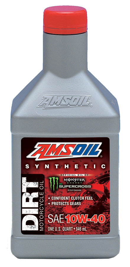 AMSOIL Synthetic 10W-40 Dirt Bike Oil