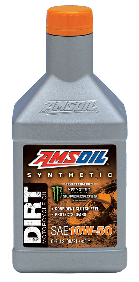Buy amsoil synthetic 10w 50 dirt bike oil in canada usa for Synthetic motor oil test