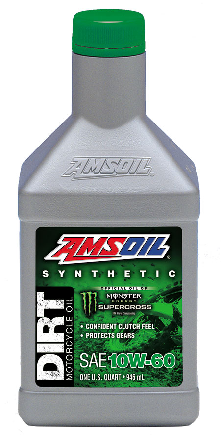 AMSOIL Synthetic 10W-60 Dirt Bike Oil