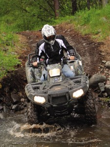 Polaris 4X4 ATV Demand Drive