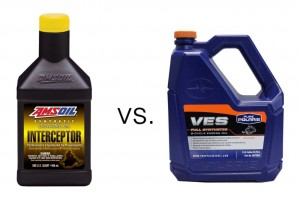 AMSOIL Interceptor vs. Polaris VES Syn 2-Stroke Oil