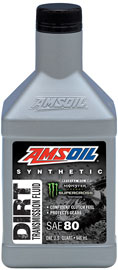 AMSOIL Synthetic SAE 80 Dirt Bike Transmission Fluid