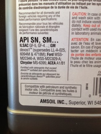 How To Choose The Correct Motor Oil Oil Depot Amsoil