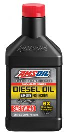 AMSOIL Signature Series 5W-40 Max-Duty Synthetic Diesel Oil