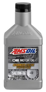 AMSOIL OE 0W-16 Synthetic Motor Oil