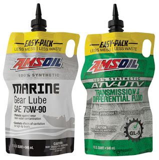 AMSOIL Easy Pack For Marine Gear Oil and ATV/UTV Transmission/Diff Oil