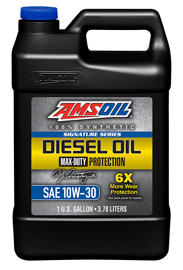 AMSOIL Signature Series Max-Duty 10W-30 Synthetic Diesel Oil