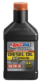 AMSOIL Signature Series Max-Duty Synthetic 5W-30 Diesel Oil
