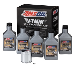 AMSOIL Oil Change Kit For Harley Milwaukee-8