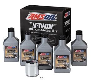 AMSOIL Oil Change Kit For Harley Milwaukee-8