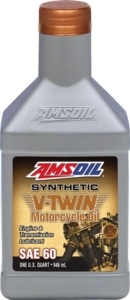 AMSOIL V-Twin Synthetic SAE 60 Motorcycle Oil