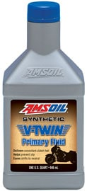 AMSOIL V-Twin Synthetic Primary Fluid