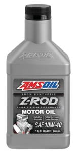 AMSOIL Z-ROD 10W-40 Synthetic Motor Oil