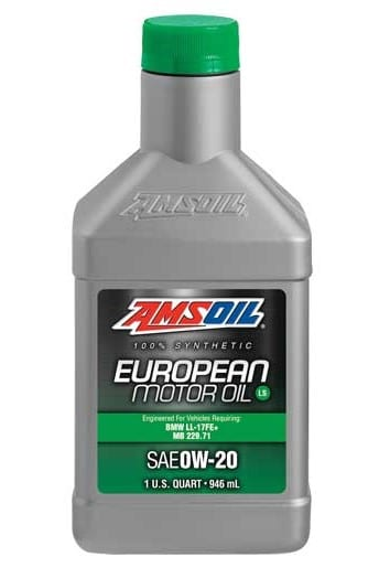 AMSOIL SAE 0W-20 LS Synthetic European Motor Oil