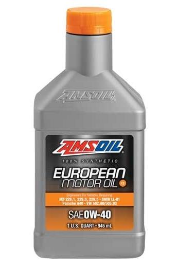 AMSOIL European Formula FS 0W-40 Synthetic Motor Oil