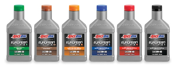 AMSOIL European Synthetic Motor Oil Series