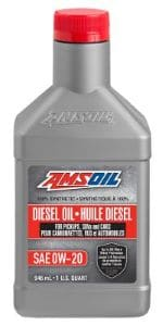 AMSOIL 0W-20 100% Synthetic Diesel Oil
