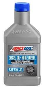 AMSOIL 5W-30 100% Synthetic Diesel Oil