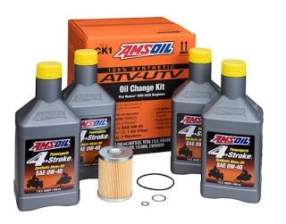 AMSOIL Synthetic Oil Change Kits For Can-Am ATV And UTV