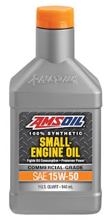 AMSOIL Synthetic 15W-50 Small Engine Oil